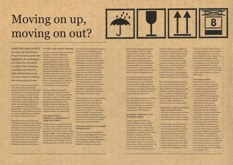 Reps Featured in Lark's FI Magazine