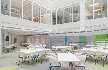 Open plan atrium at Watson Farley WIlliams LLP, London