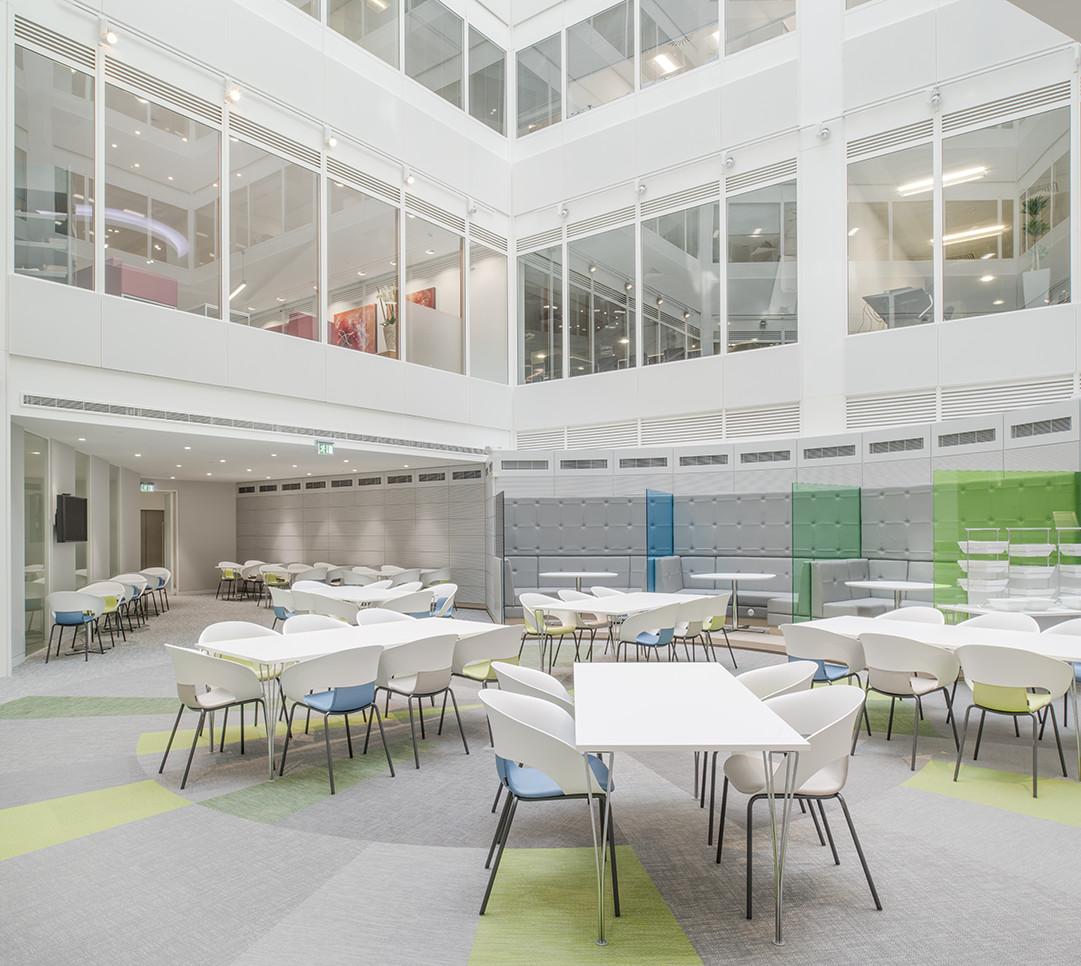 Open plan atrium at Watson Farley WIlliams LLP, London